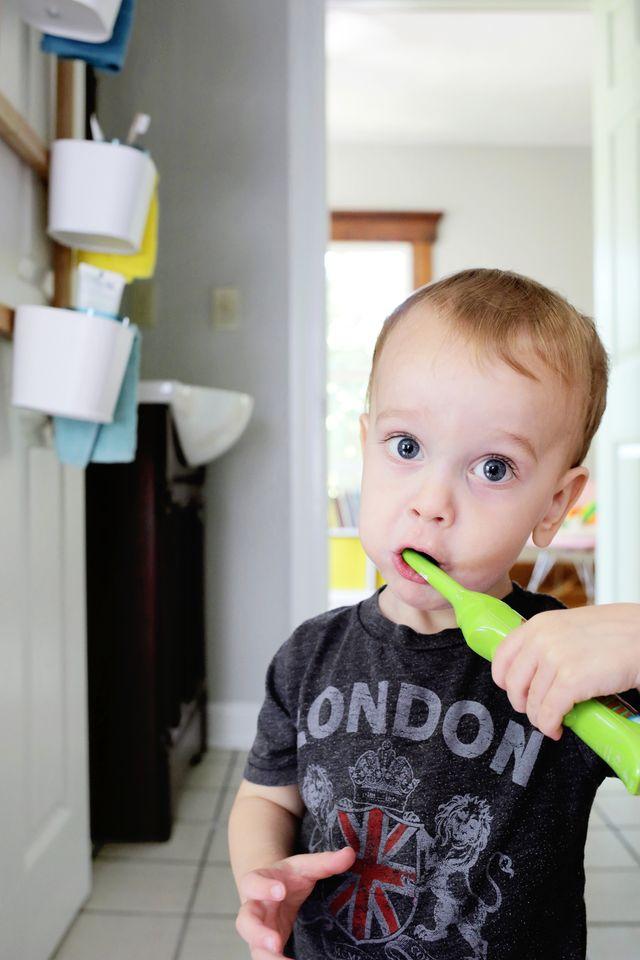 Brushing Those Teeth